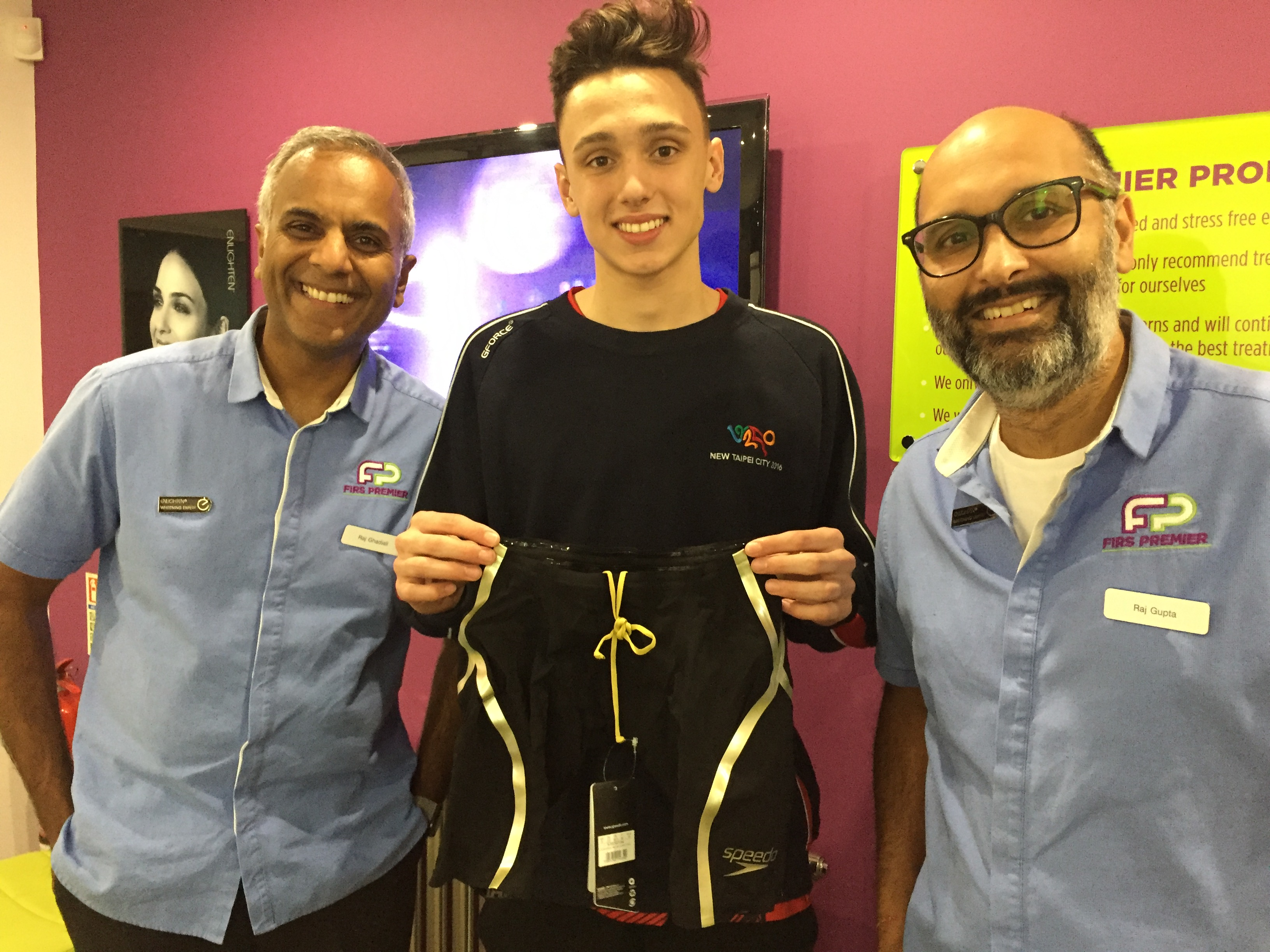 William Bell - Firs Dental Sponsored Swimmer