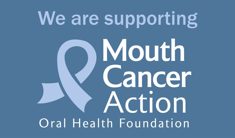 Mouth Cancer Action Month - November 2018