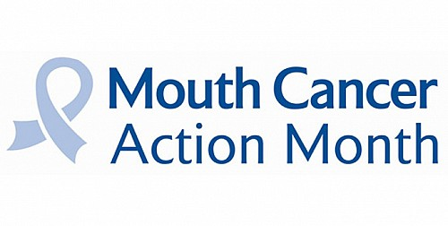 Mouth Cancer Action Month logo